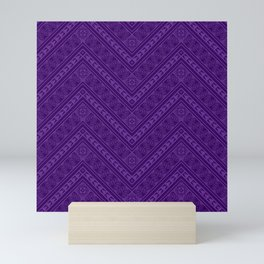 Tipi's (Purple) Mini Art Print