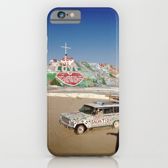 Salvation Mountain iPhone & iPod Case
