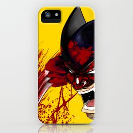 James Howlett iPhone Case