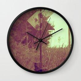 fin Wall Clock