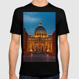 Papal Basilica of St. Peter in the Vatican T-shirt