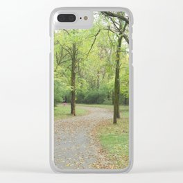 Wildlife Meadows Clear iPhone Case