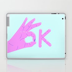 It's alright! – purple version Laptop & iPad Skin