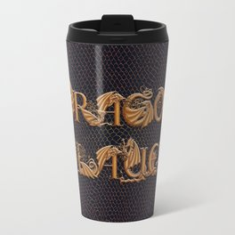 Dracoserific Dragon Slayer Travel Mug
