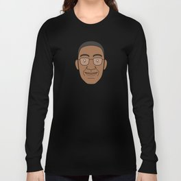 Faces of Breaking Bad: Gustavo Fring Long Sleeve T-shirt