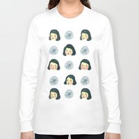 girly Long Sleeve T-shirts featuring Girly : 소녀감성 by Young Ju
