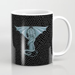 """Dragon Letter T, from """"Dracoserific"""", a font full of Dragons Coffee Mug"""