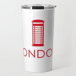 London phone booth Travel Mug