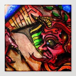 Lucky Devil Canvas Print