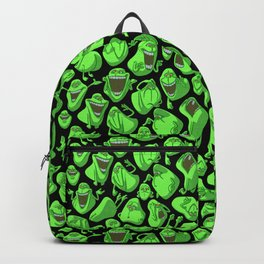 Fifty shades of slime. Rucksack