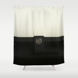 MG MGB 1975 Shower Curtain