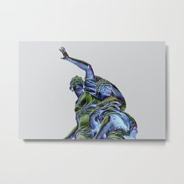 Goddess of Versailles Metal Print
