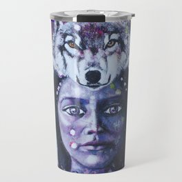 She Who Has Been Before Travel Mug