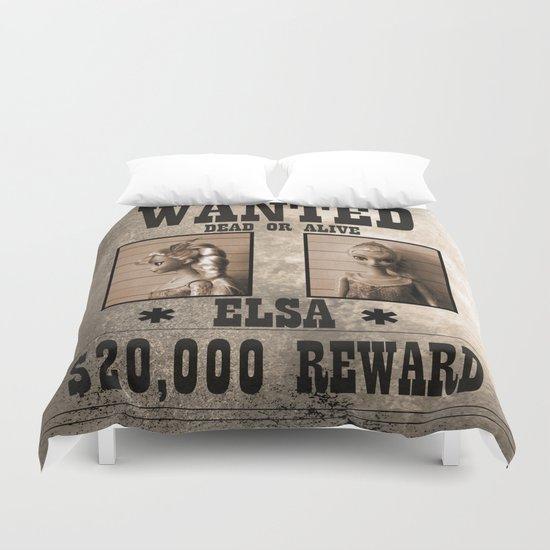 Elsa - Wanted Duvet Cover
