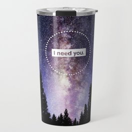 Bellamy and Clarke - I need you Travel Mug