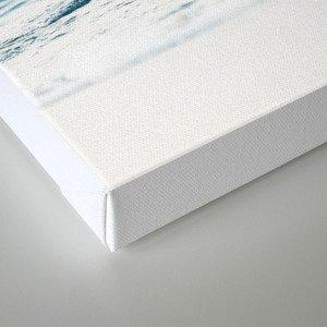 Water, Sea, Ocean, Water, Blue, Nature, Modern art, Art, Minimal, Wall art Canvas Print