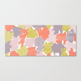 Scribble Pop Canvas Print
