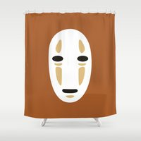 spirited away Shower Curtains featuring Spirited Away by FilmsQuiz