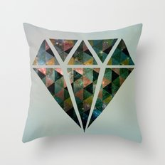 Shine on you crazy diamond Throw Pillow
