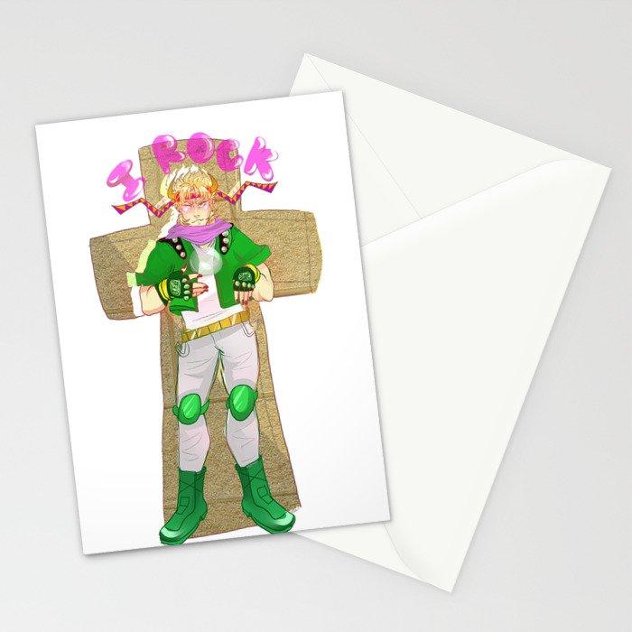 Caesar Zeppeli Rocks!!!1!! Stationery Cards