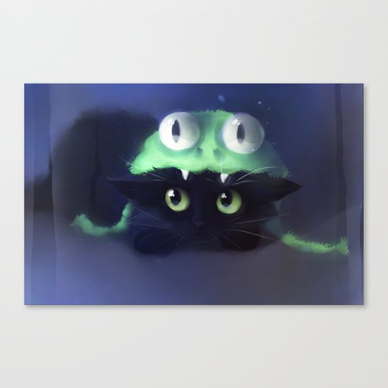 Team Frog Canvas Print