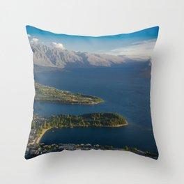 Queenstown New Zealand Throw Pillow