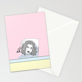 Primadonna Girl  Stationery Cards