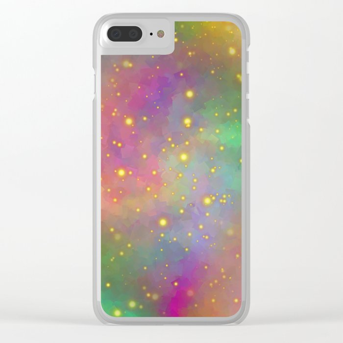 Love You To Infinity And Back Clear iPhone Case