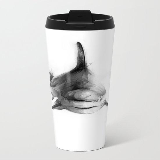 Shark III Metal Travel Mug