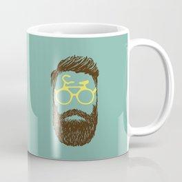 Hipster Biker Coffee Mug