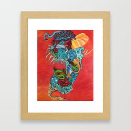 Insectuous Framed Art Print