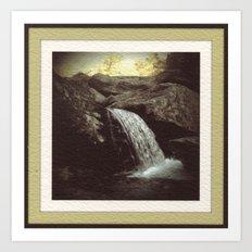 Appalachian Stream Art Print