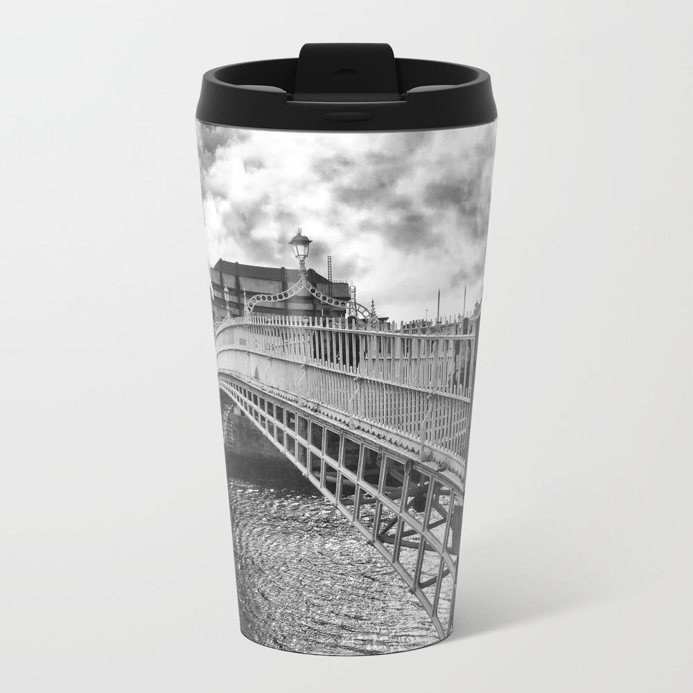 Ha'penny Bridge In Dublin Travel Mug TRM8741291