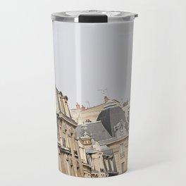 Parisian buildings Travel Mug