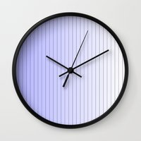 gradient Wall Clocks featuring Gradient  by ijsw