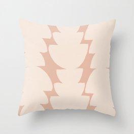 Bohemian Organic Pattern Throw Pillow