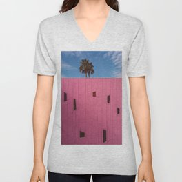 Palm Springs Vibes III Unisex V-Neck