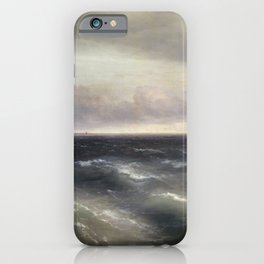 The Black Sea by Ivan Aivazovsky. iPhone Case