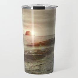 Sea and Sunset Travel Mug