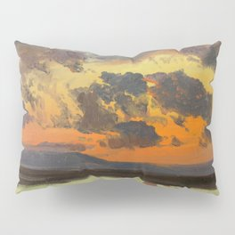 """Frederic Church """"Sky at sunset, Jamaica, West Indies"""" Pillow Sham"""