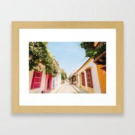 COLOMBIA 1 Framed Art Print
