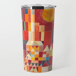 Burg und Sonne 1928 - Paul Klee Travel Mug