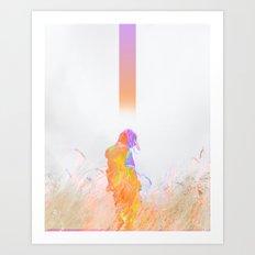 Sens Art Print