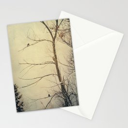 Three in a Tree Stationery Cards