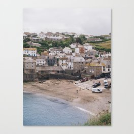Quiet Day in Port Isaac Canvas Print
