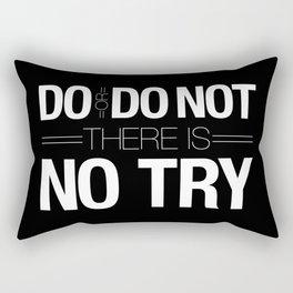 Do or Do Not Rectangular Pillow