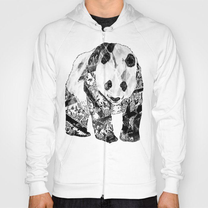 Tattooed Panda Hoody