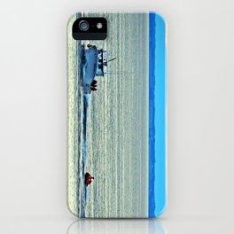 Fun with a Lobster Boat iPhone Case