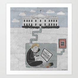 Bunker Boy Art Print