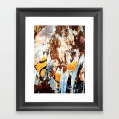 Vestiges Framed Art Print